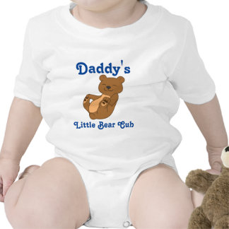 Brown Bear Customizable Kids Shirt with Blue Text