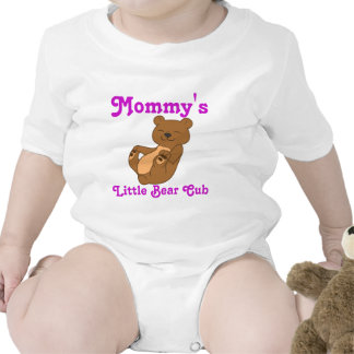 Brown Bear Customizable Kids Shirt with Pink Text