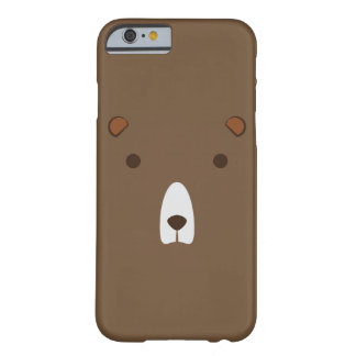 BROWN BEAR FACE IPHONE 6/6s CASE