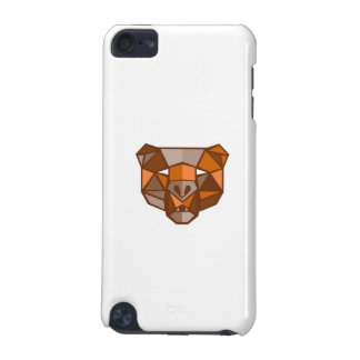 Brown Bear Head Low Polygon iPod Touch 5G Cover