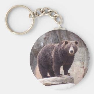 Brown Bear Key Ring