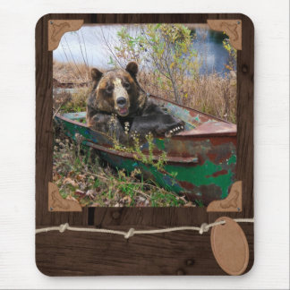 Brown Bear Mouse Pad