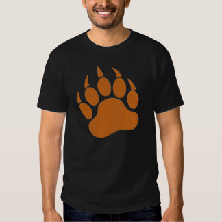 Brown Bear Paw T-shirt