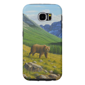 Brown Bear Samsung Galaxy S6 Cases