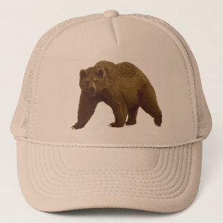 Brown Bear Trucker Hat