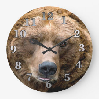 Brown Bear Wallclocks