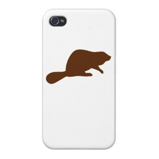 Brown Beaver Covers For iPhone 4