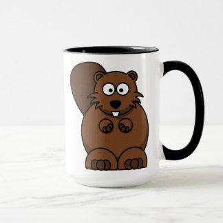 Brown Beaver Mug