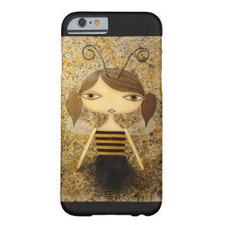 """""""Brown Bee Girl"""" iPhone 6/6S Case! Barely There iPhone 6 Case"""