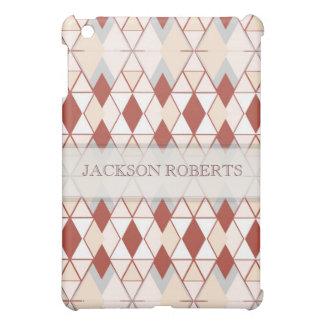 Brown+Beige Diamond Geometry Pattern iPad Speck® C iPad Mini Cover
