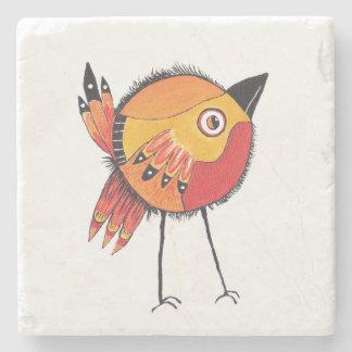 Brown Bird Coaster