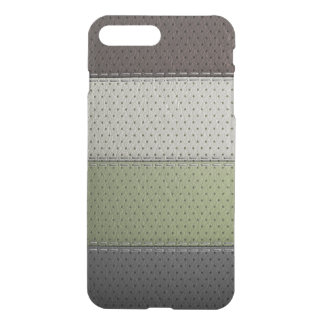 brown black green white leather material textures iPhone 8 plus/7 plus case