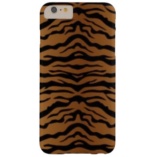 Brown Black Tiger Barely There iPhone 6 Plus Case