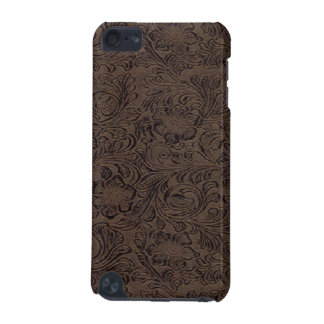 Brown/Black Tool Leather Print Pattern Speck iPod  iPod Touch (5th Generation) Case