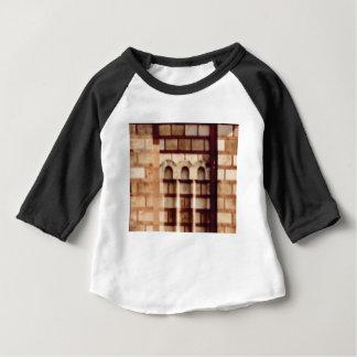 brown block window baby T-Shirt