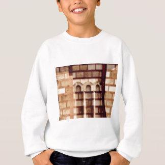 brown block window sweatshirt