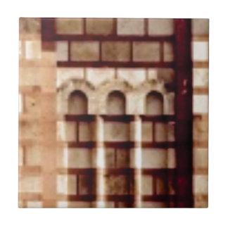 brown block window tile