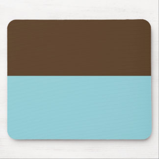 Brown & Blue Mousepad