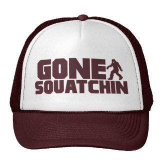 Brown Bobo GONE SQUATCHIN Hat Finding Bigfoot