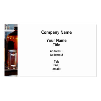 Brown Bottles Pack Of Standard Business Cards