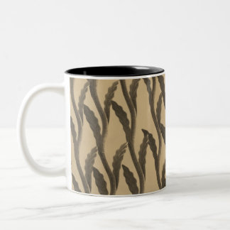 Brown Branches Two-Tone Mug
