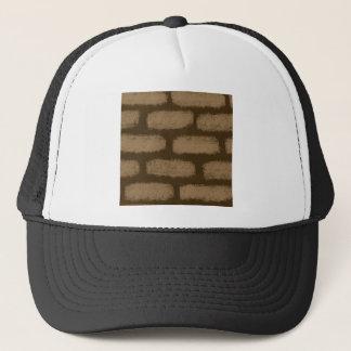 Brown Bricks Pattern Trucker Hat