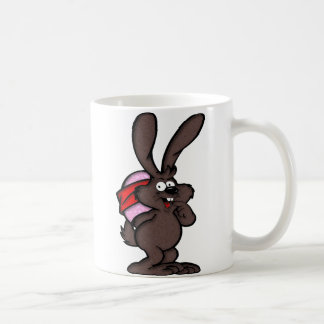 Brown Bunny, Happy Easter Coffee Mug