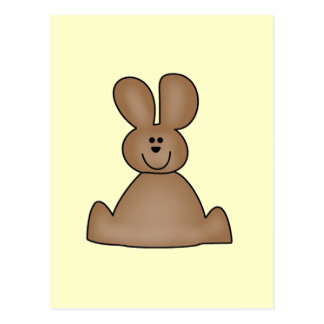 Brown Bunny T-shirts and Gifts Postcard