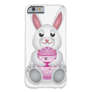 Brown bunny with Easter eggs Barely There iPhone 6 Case
