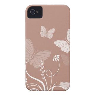 Brown butterflies BlackBerry Bold Case