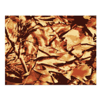 Brown Camo Camouflage Gifts for Hunters Postcards
