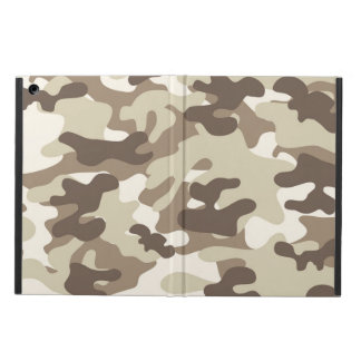 Brown Camo Design Cover For iPad Air