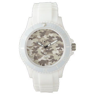 Brown Camo Design Watches