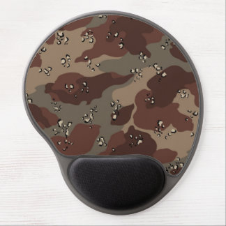 Brown Camo Gel Mouse Pads