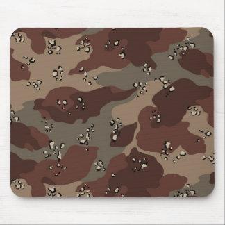 Brown Camo Mouse Pad