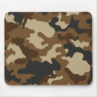 Brown Camo Mousepad