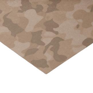 Brown camo pattern baby boy tissue paper