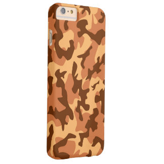 brown camouflage army texture barely there iPhone 6 plus case