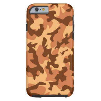 brown camouflage army texture tough iPhone 6 case