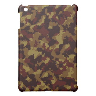 Brown Camouflage Cover For The iPad Mini
