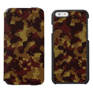 Brown Camouflage Incipio Watson™ iPhone 6 Wallet Case