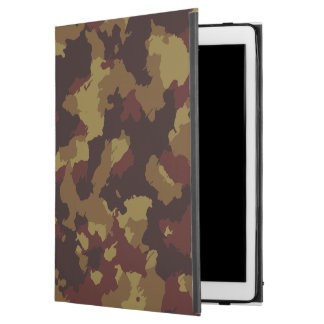 """Brown Camouflage iPad Pro 12.9"""" Case"""