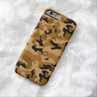 Brown Camouflage iPhone 6 Case