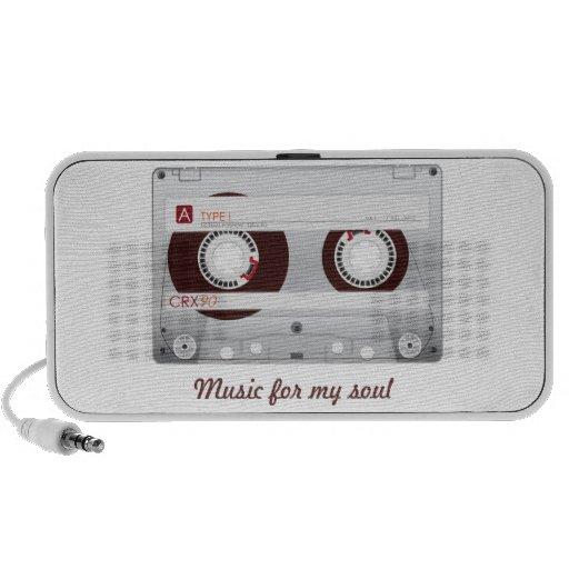 Brown Cassette iPod Speakers