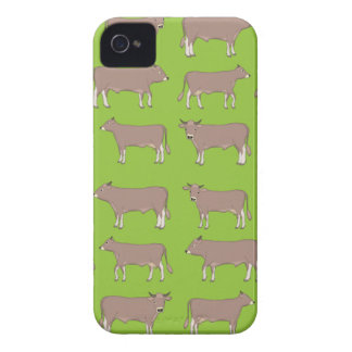 brown cattle Case-Mate iPhone 4 case