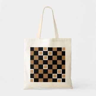 Brown Checkers Bags