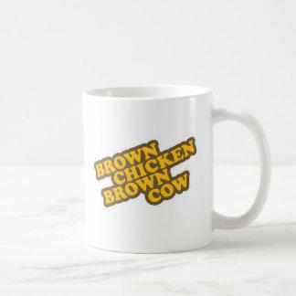 Brown Chicken Brown Cow Basic White Mug