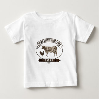 Brown Chicken Brown Cow Farms Baby T-Shirt