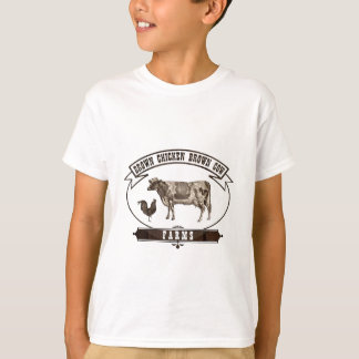 Brown Chicken Brown Cow Farms Shirts