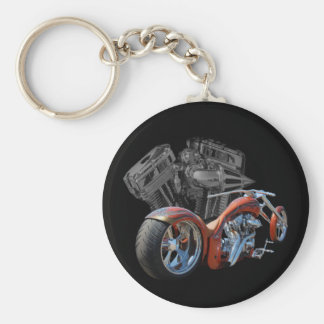 Brown Chopper Key Ring